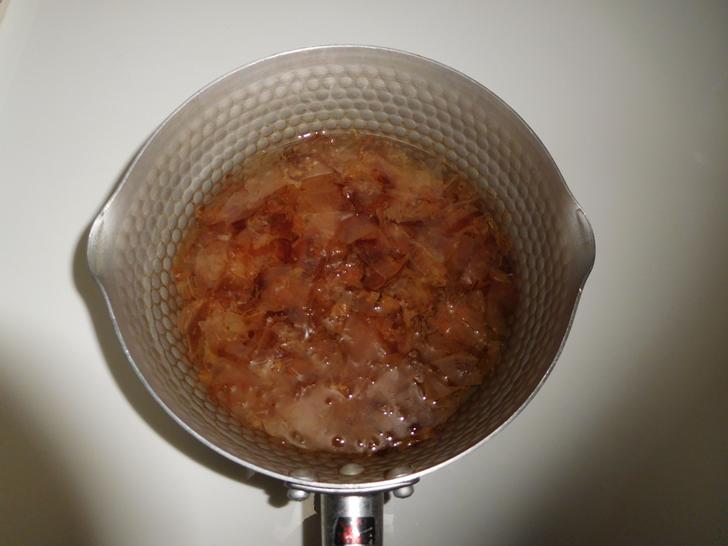 極上煮魚の煮汁1
