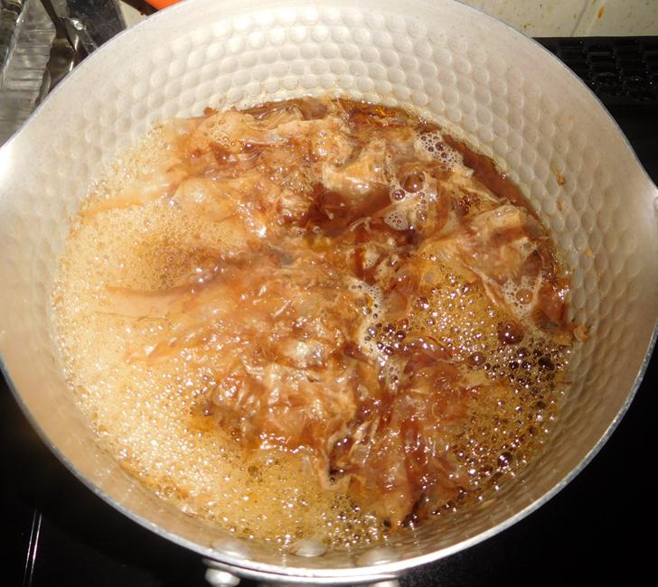 極上煮魚の煮汁4