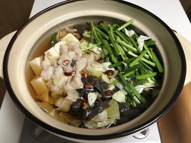 美味しいもつ鍋の作り方6