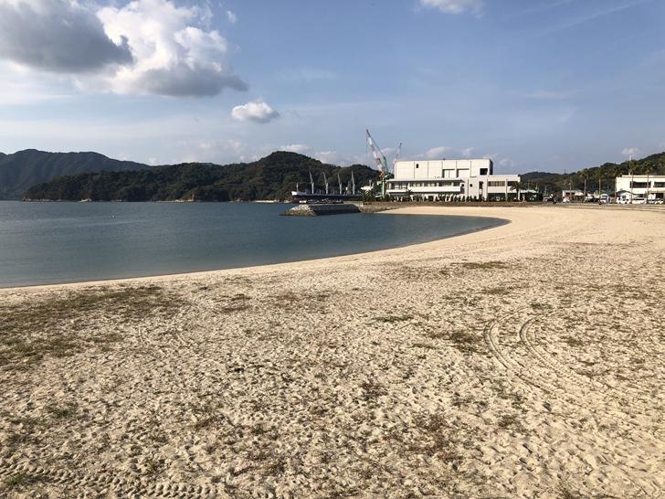 伯方島砂浜