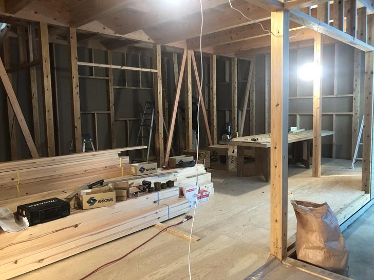 木造軸組み工法①