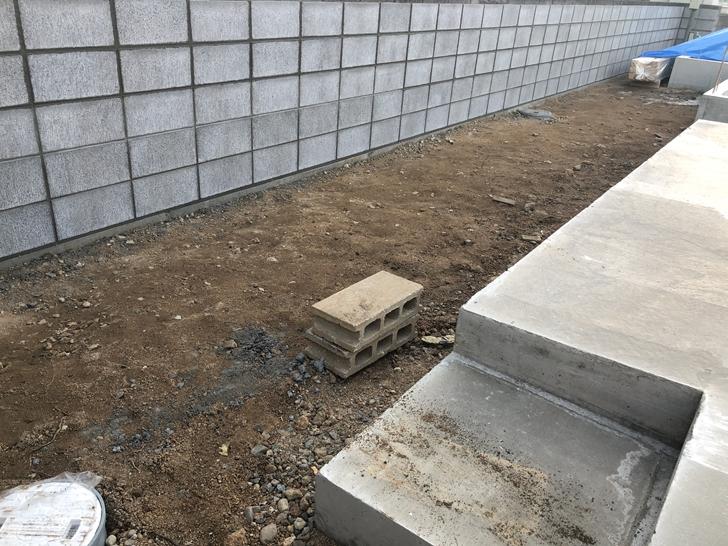 ブロック塀工事2