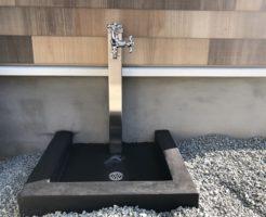 墨コンクリート排水